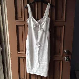 Brandnew Forever21 White Dress