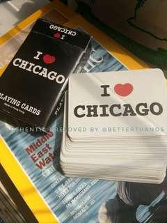 Playing Cards (I Love Chicago)