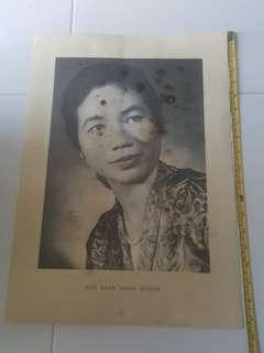The Late President Yusof Wife.