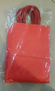 Red Paper Gift bag (S)