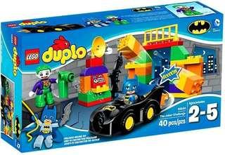 LEGO DUPLO 10544 Batman The Joker Challenge Set
