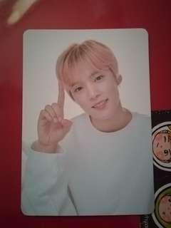 Monsta X TonyMoly hand cream Minhyuk photo card