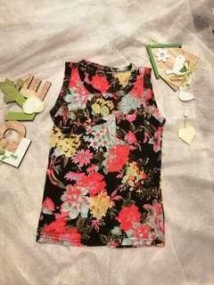 Floral Tops 💕 sleeveless #MMAR18