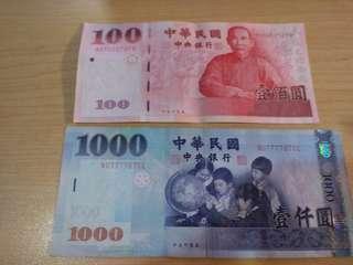 🚚 新台幣七六人2張合賣