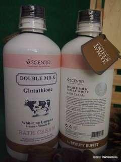 Scentio bath cream triple white