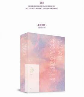 BTS LOVE YOURSELF TOUR DVD