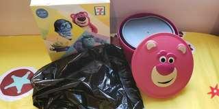Toys story食物盒及碟