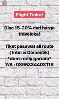 Tiket discount