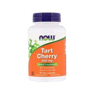 🚚 Now Foods, Tart Cherry, 500 mg, 90 Veg Capsules