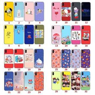 🚚 BTS Phone cover casing IPhone Samsung Oppo Huawei Xiaomi