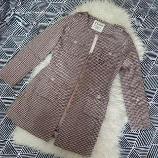 🚚 Coat tweed