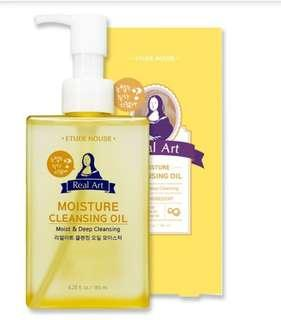 Etudehouse Real Art Oil Cleansing