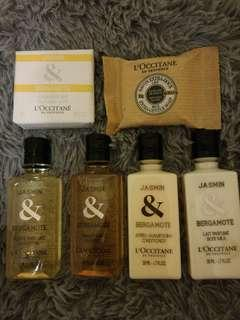 Loccitane Travel kit