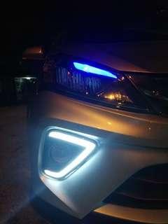 MYVI NEW DRL LED DAYLIGHT