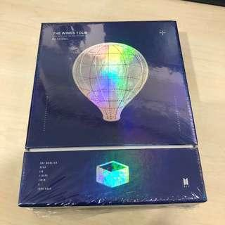 🚚 BTS The Wings Tour DVD + Mini Poster