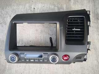 Honda Civic FD3 Double Din Panel Original