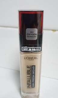 🚚 L'Oreal 24H Fresh Wear Foundation