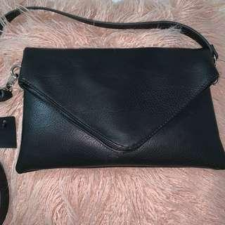 Brand New Leather Pouch Side Bag
