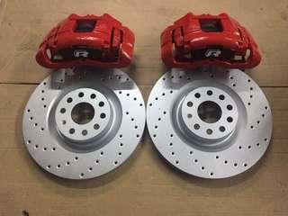 Original R Brakes for VW GOLF/Roc/Jetta/Passat