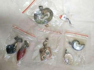 Jewelry made from Seashells