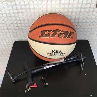 籃球送氣泵連配件 無漏氣