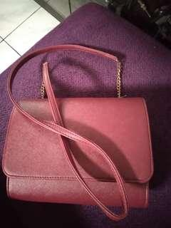 H&m sling bag red kw