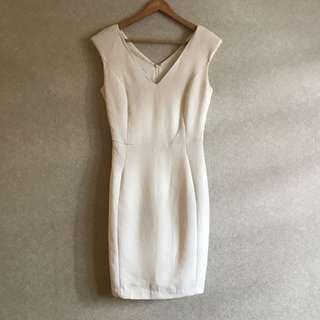 BNWT MNG Suit White Dress