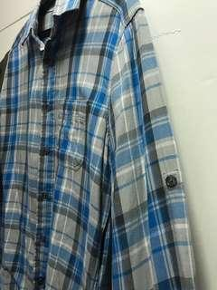 Gap Plaid Long Sleeves