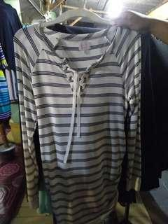 Blouse tali garis2