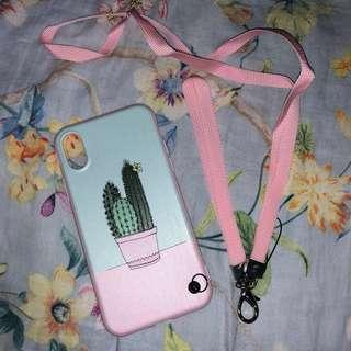 Cactus Pink Case iPhone X