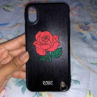 Rose Flower Case iPhone X