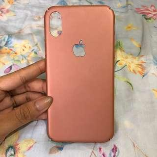 Rose Gold Case iPhone X
