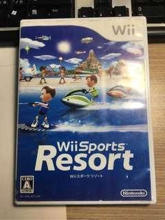 🚚 降價199↘️149 Wii 運動 度假勝地 內含12種遊戲 日版