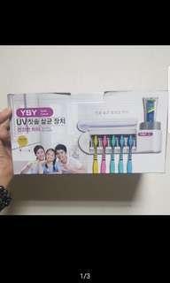 🚚 韓國紫外線牙刷消毒器(免打孔)