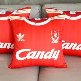 a3b93f226 Customised Liverpool FC 1988-89 (CANDY) Home Kit - RARE