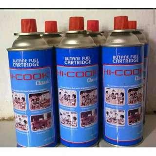Gas untuk kompor portable hi cook/hi-cook