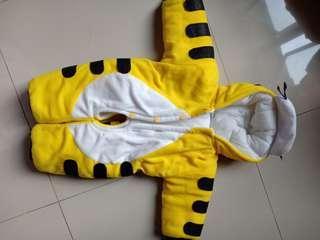 Kostum macan anak