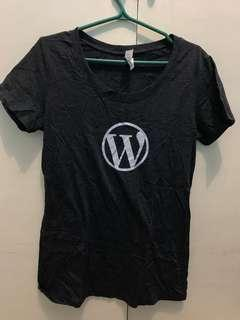 Grey Wordpress T-shirt