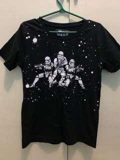 Black Star Wars Stormtroopers T-shirt