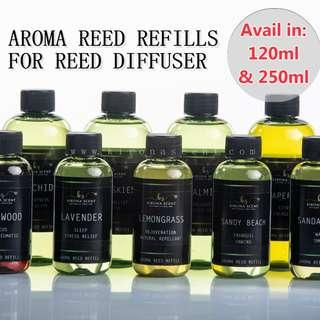 🚚 REED REFILLS / ESSENTIAL OILS FOR REED DIFFUSER / AROMATHERAPY / BEDROOM / BATHROOM / AIR FRESHENER / CAR FRAGRANCE