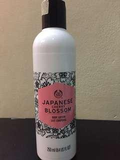 The Body Shop Japanese Cherry Blossom Body Lotion