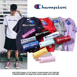 🚚 Original Champion Classic Embroidery Logo Shirt