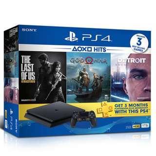 PS4 Slim 1TB Hits Bundle (Local Set)