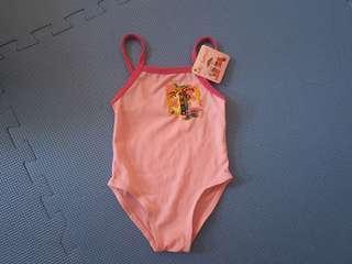 Pink Swimsuit 6-12M