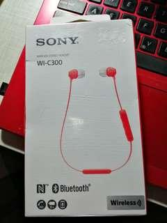 Sony wireless stereo Earphone WI-C300