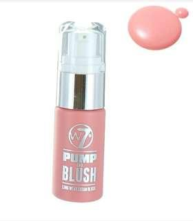 W7 pump and blush long wear cream blush