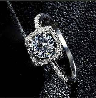 Adjustable Genuine Ring S925 For Gift, Wedding
