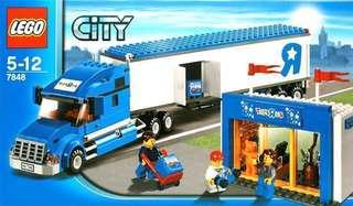 MISB Lego 7848 Toys R Us City Truck set