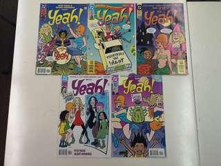 Yeah! (1999) Comics Set