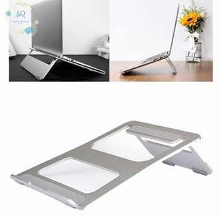 "🚚 PO Aluminium Folding Laptop Stand (up to 17"" screen size)"